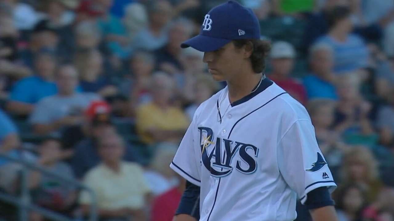 Rays' farm system ranked top 10