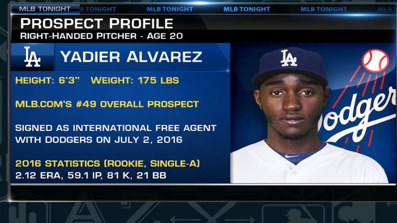 MLB Tonight: Dodgers' Prospects