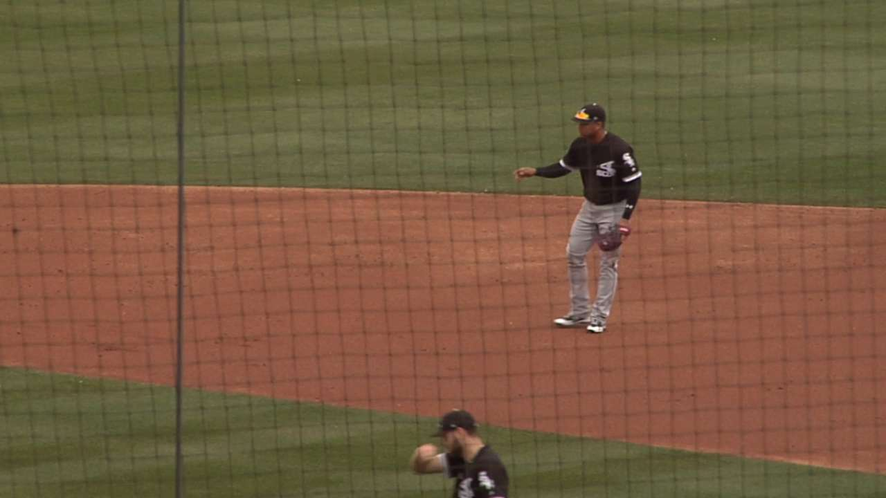 Moncada dives to turn two