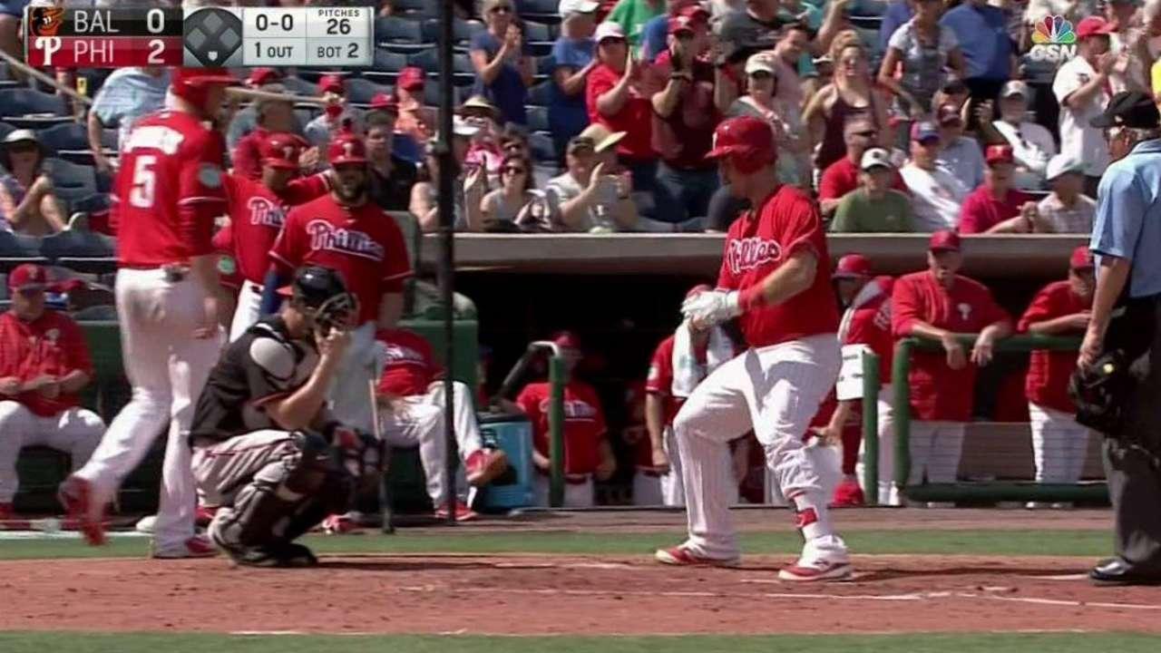 Joseph launches two-run homer