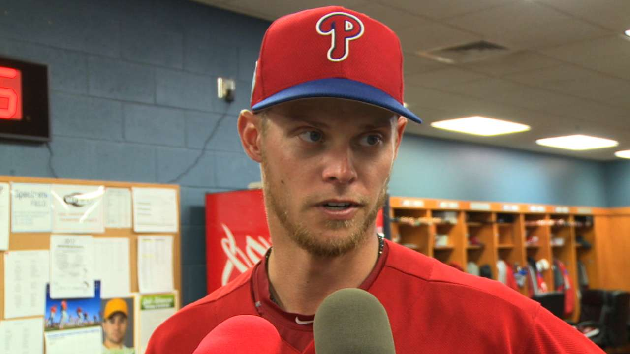 Buchholz focused on helping Phils after debut