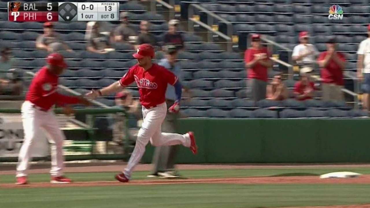 Stassi launches go-ahead homer