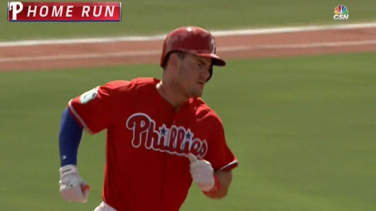 Phillies power up, ride 4 HRs vs. O's