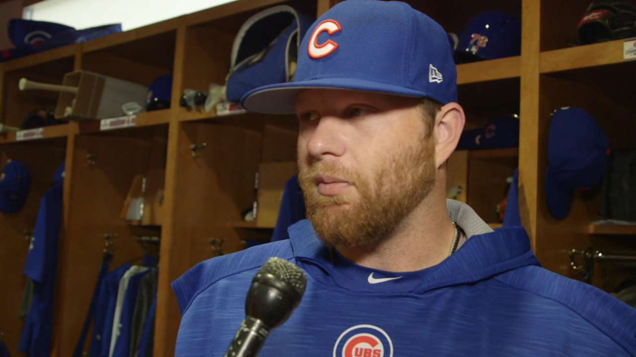 Anderson pleased with progress, new routine