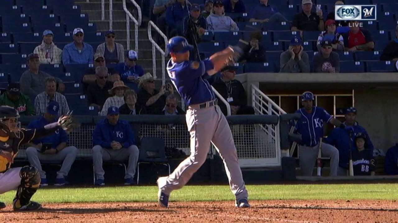 KC's O'Brien crushes third HR of spring
