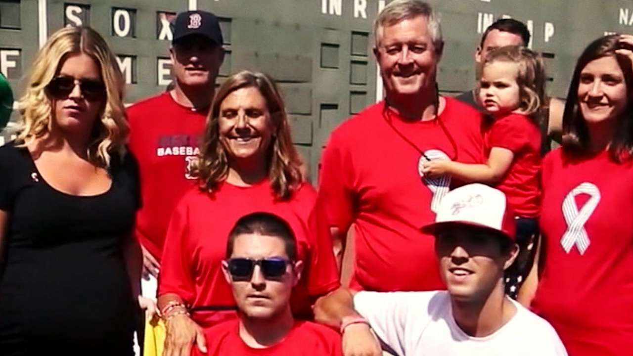 Frates and the battle with ALS