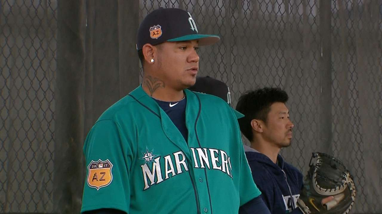 All business: Felix focused on return to form