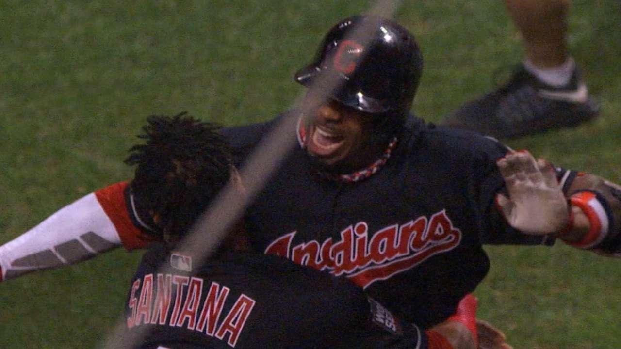 Davis' reunion with Tribe elicits Game 7 memories