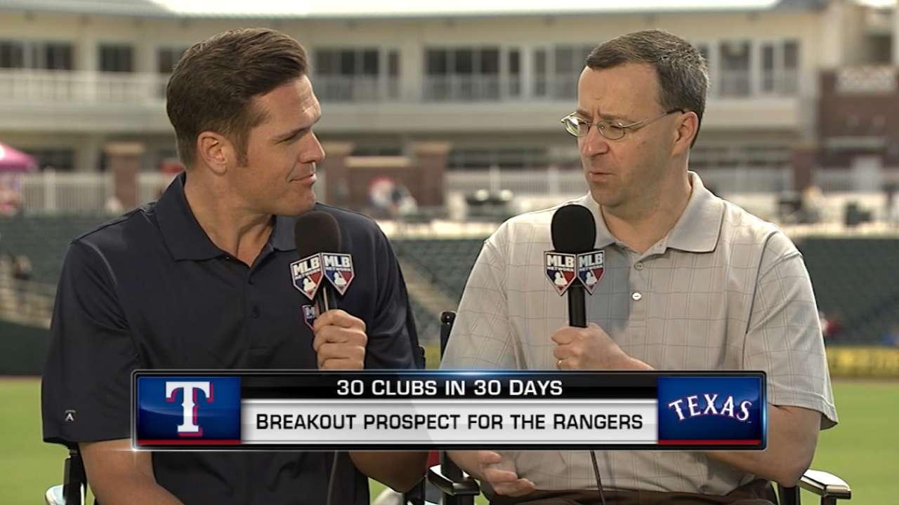MLB Tonight: Rangers Prospects