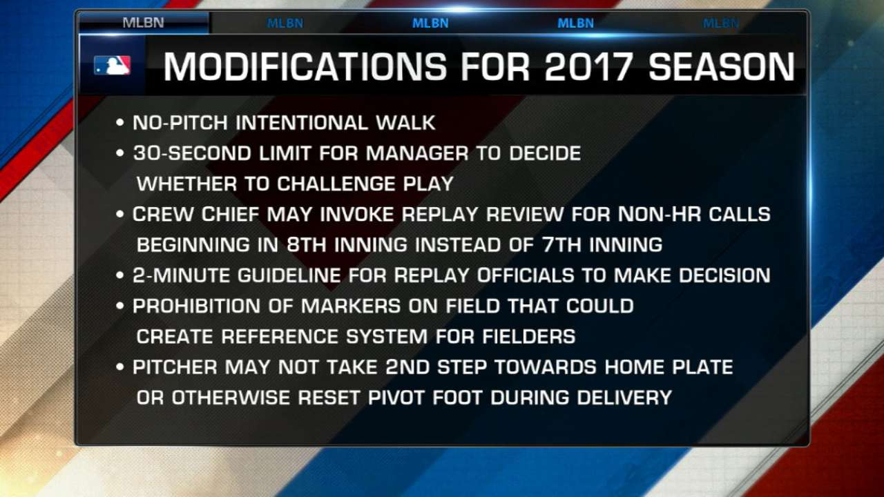 10 questions about new intentional-walk rule