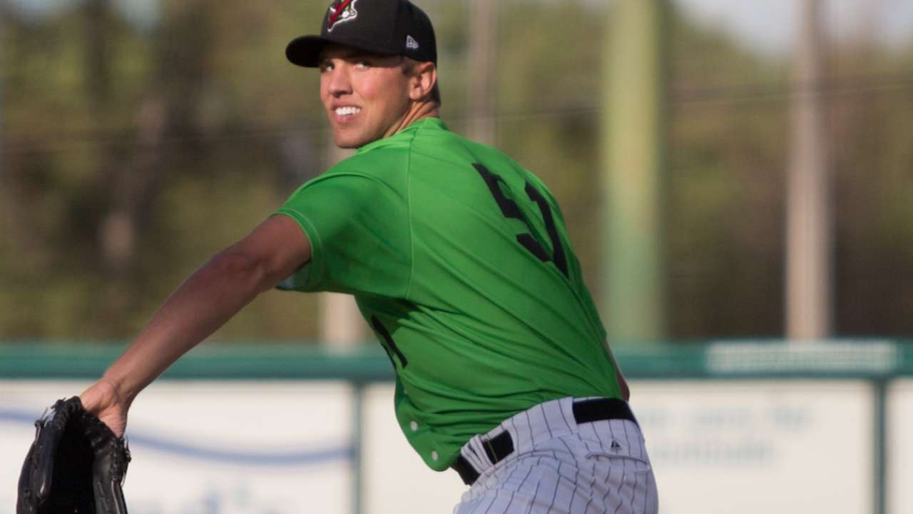 Hansen fans career-high 15 for Kannapolis