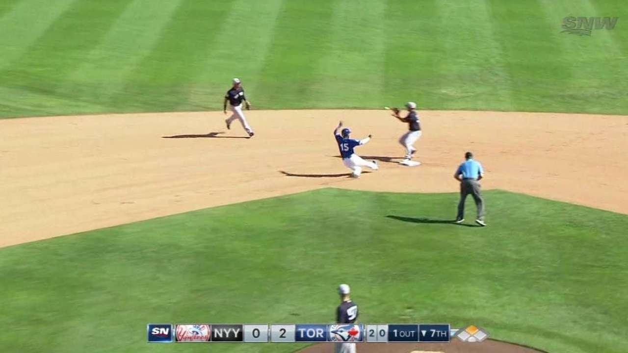 Gleyber Torres impresiona a los Yankees hasta ahora en la pretemporada