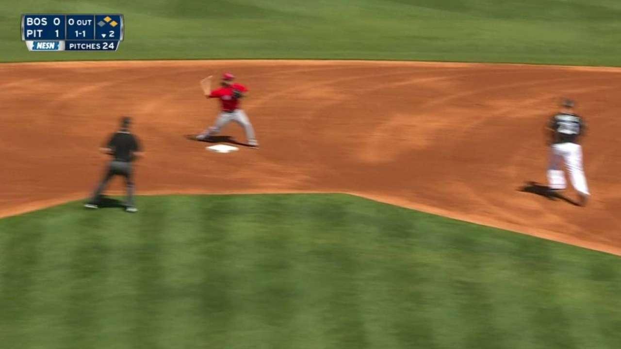 Velazquez induces double play