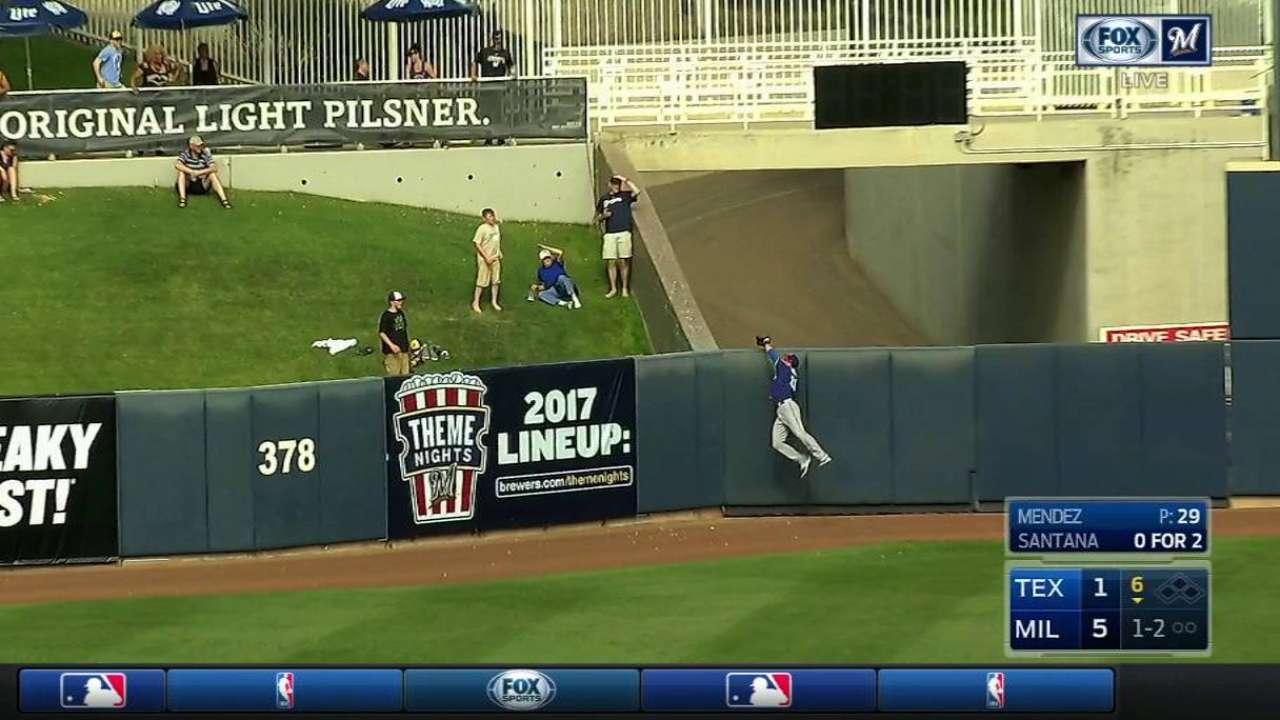 Rangers call up Hoying, start him in center
