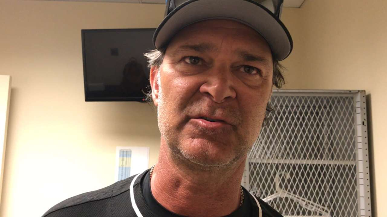 Mattingly on Peters' confidence