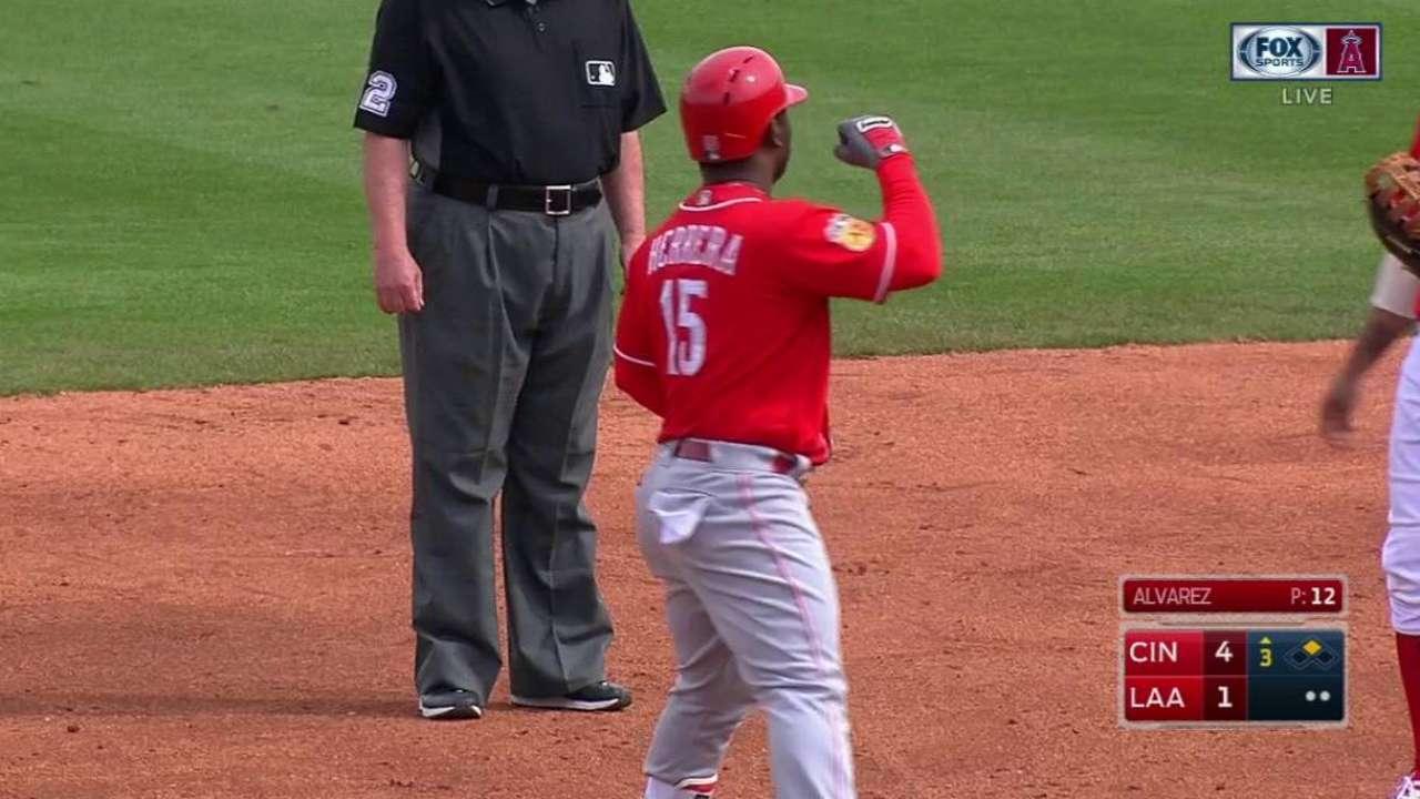 Herrera, Castillo among 16 sent to Minor League camp