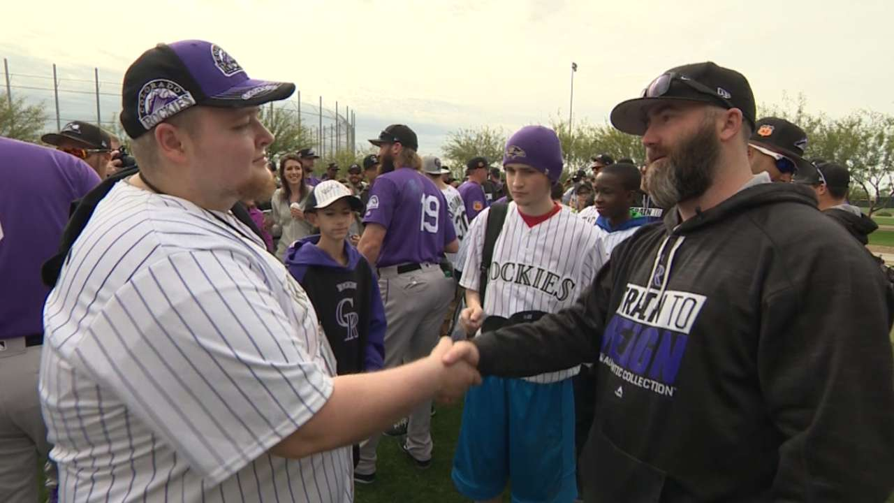 Motte brings children's hospital patients to camp