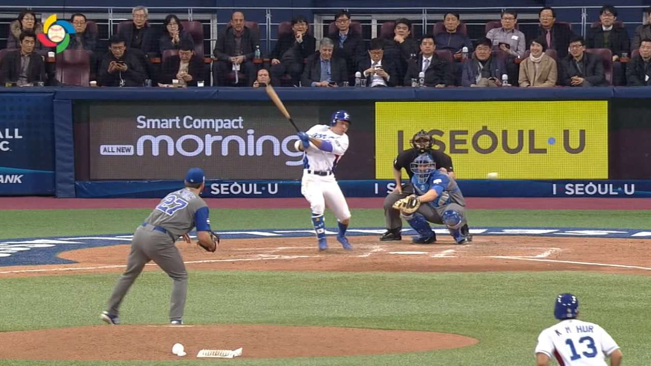 Seo's RBI single
