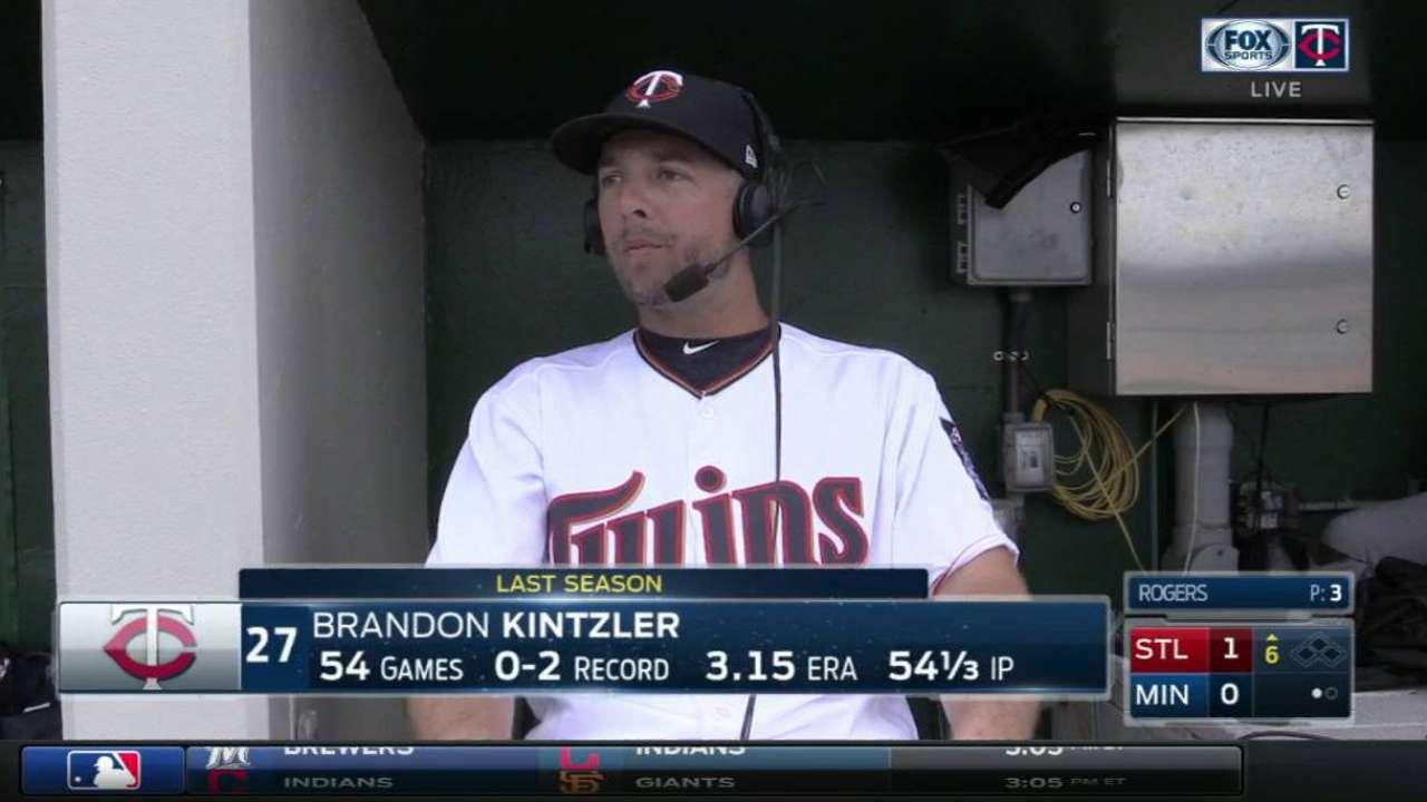 Kintzler is key for Twins bullpen success