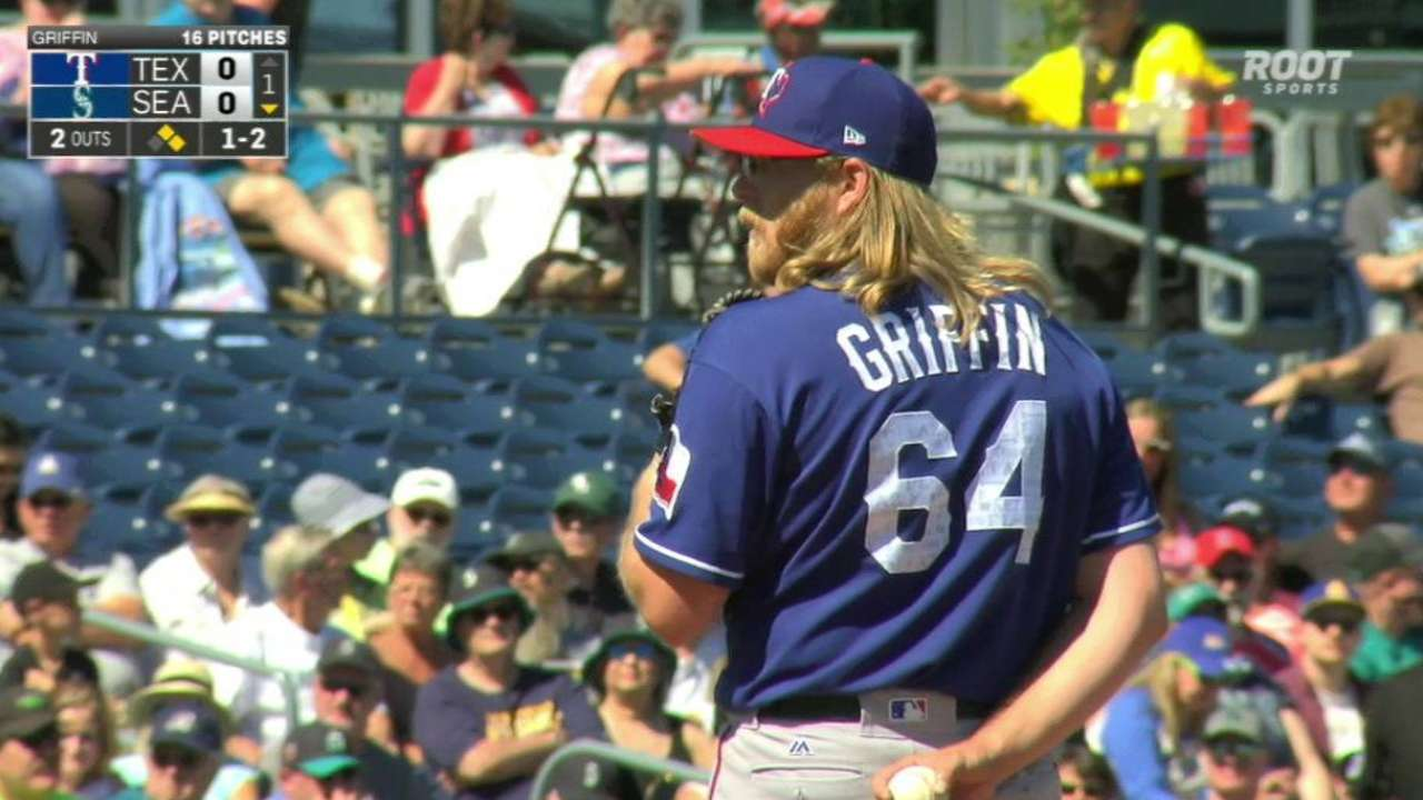 Griffin strands a pair with K