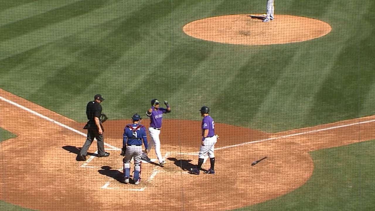 Parra's two-run homer
