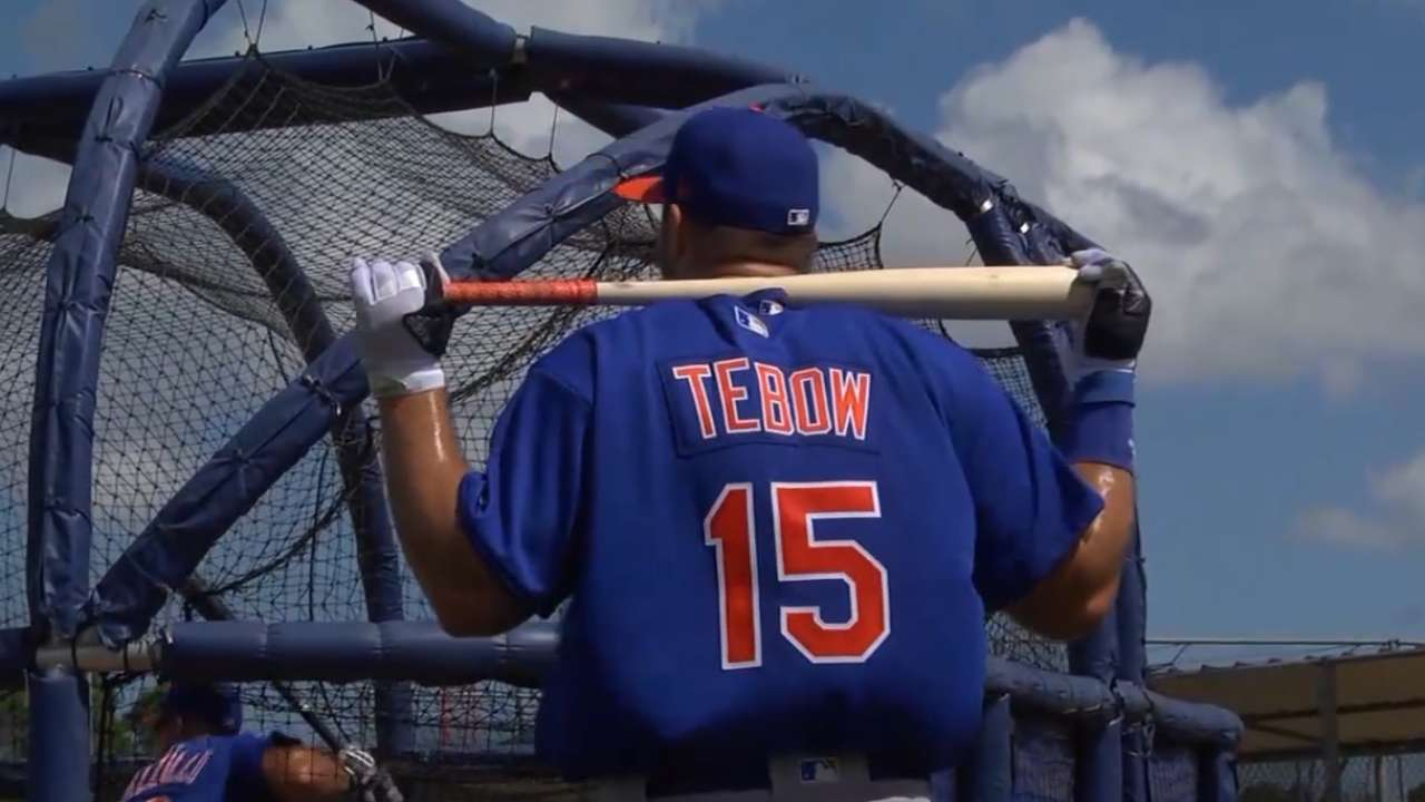 Tebow faces tough test vs. Porcello on MLB.TV