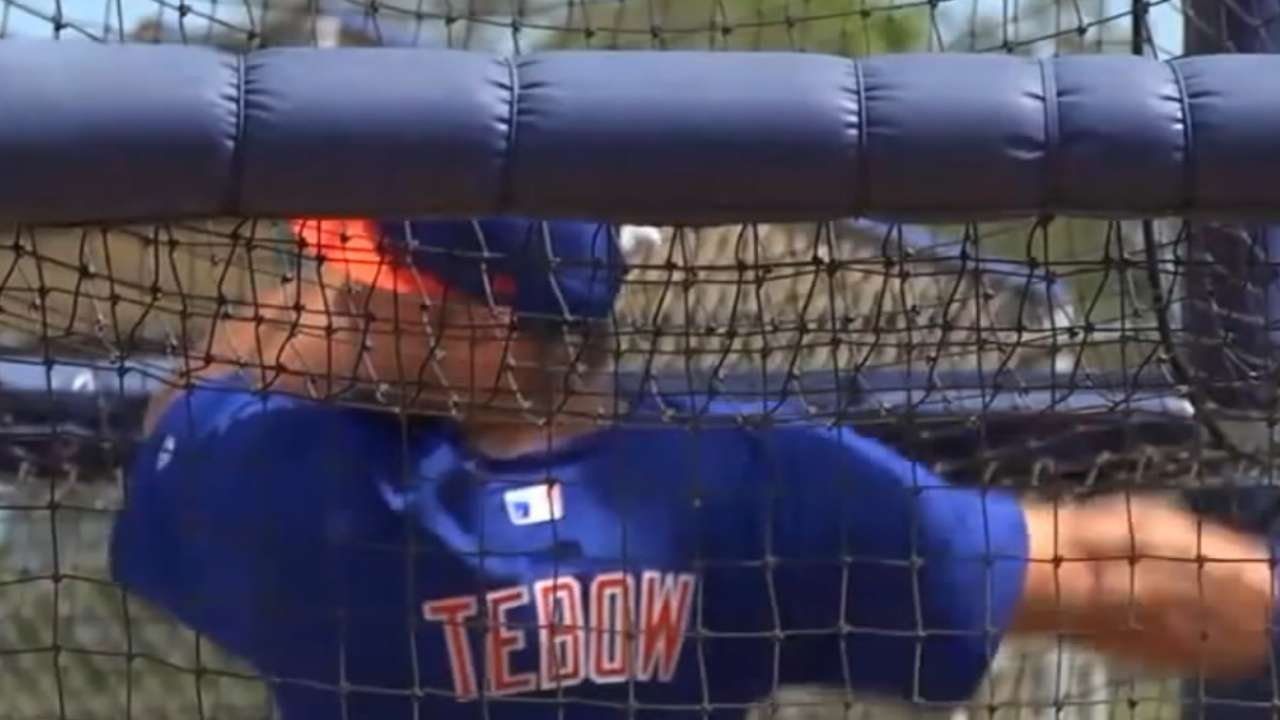 Tebow ready to start vs. Red Sox