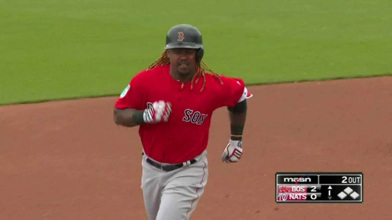 Hanley close to getting reps at first base