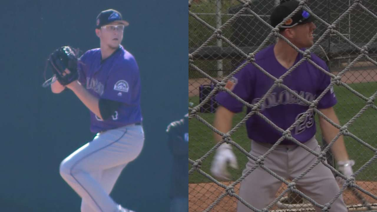 Pipeline report: Prospects in Rockies' camp