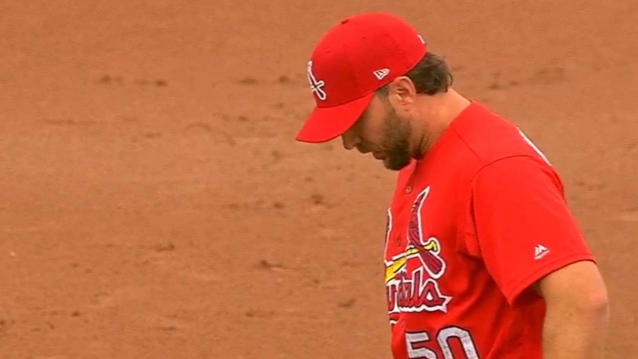 Wainwright rediscovering changeup