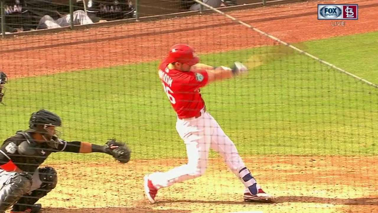 Wisdom hits third spring homer in Cards' win