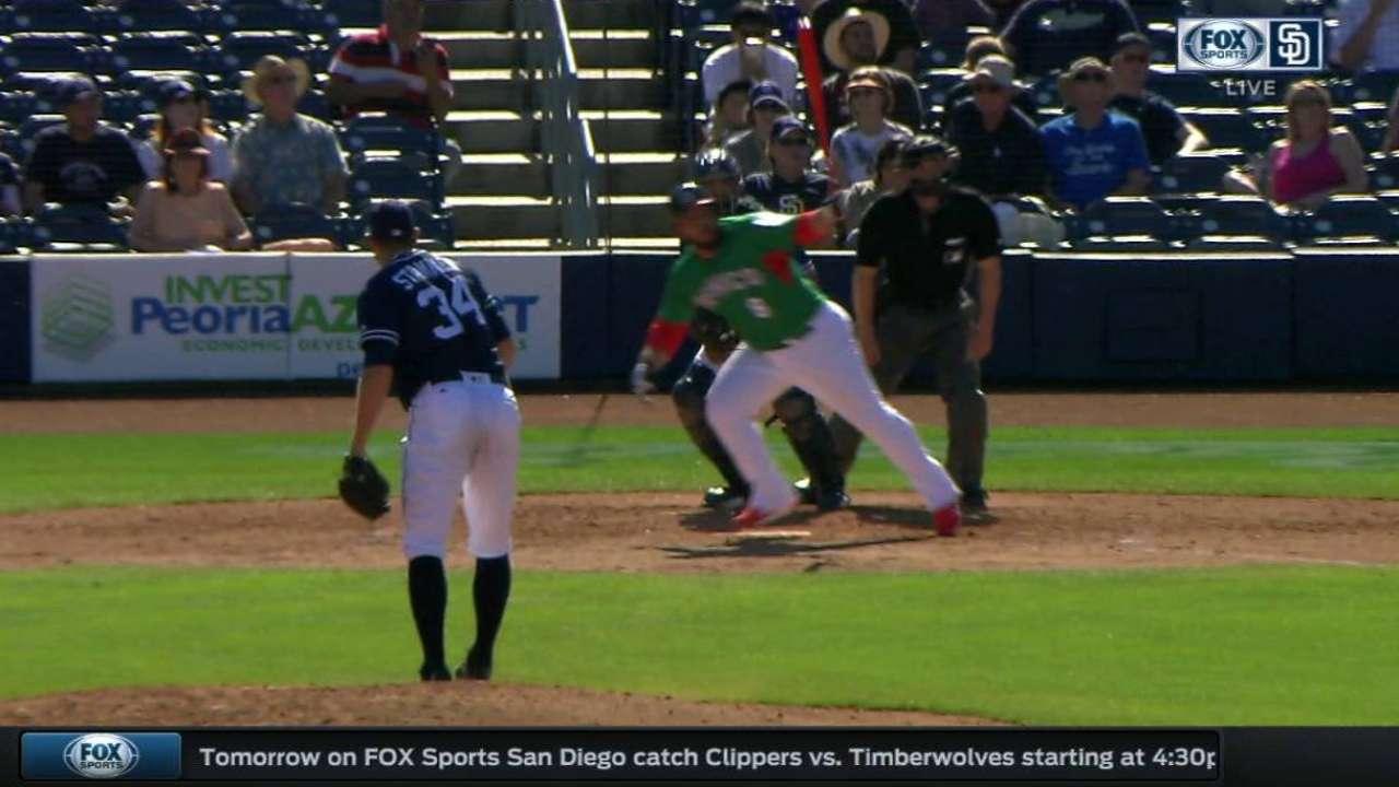 Juarez's solo home run