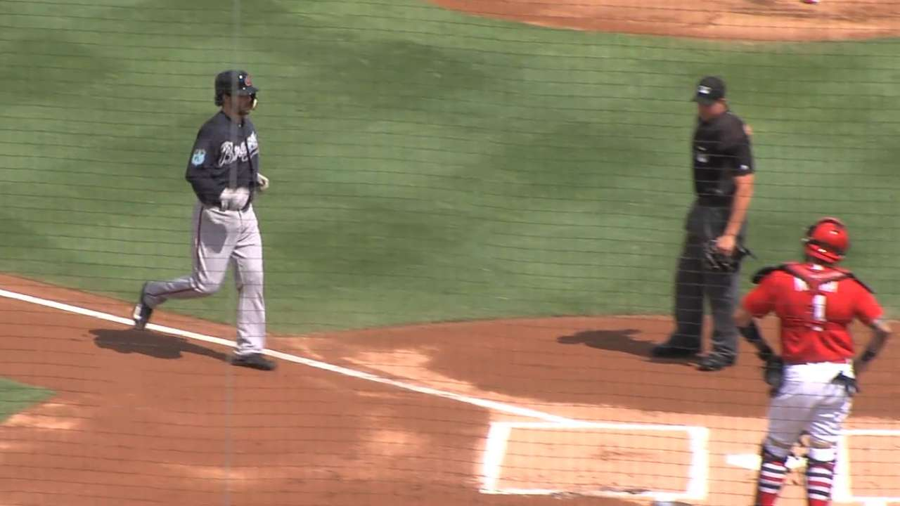 Swanson homers in Minor League game