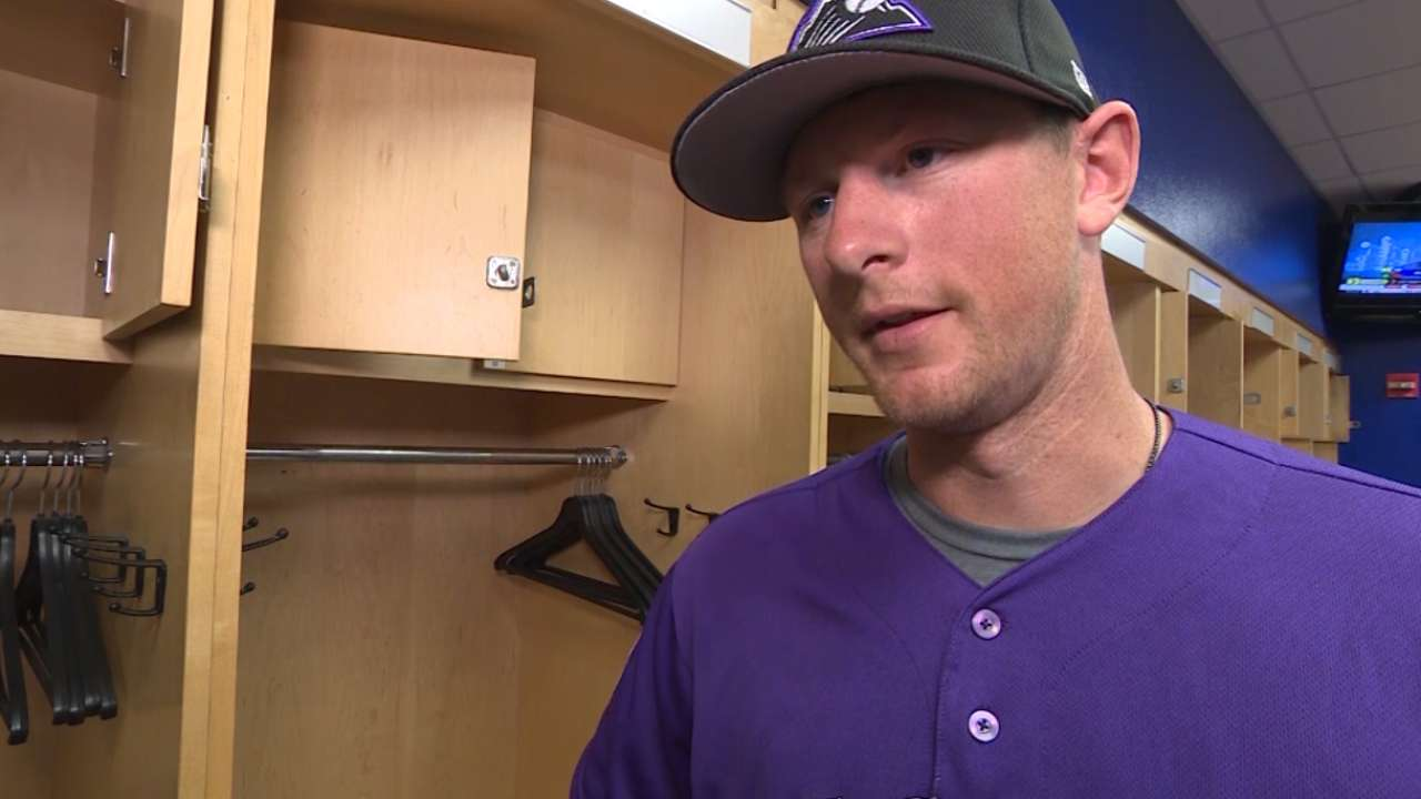 LeMahieu on playing second base