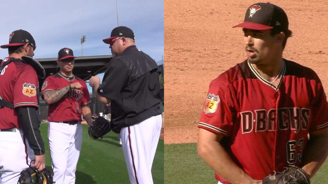 Pipeline report: Prospects in D-backs' camp