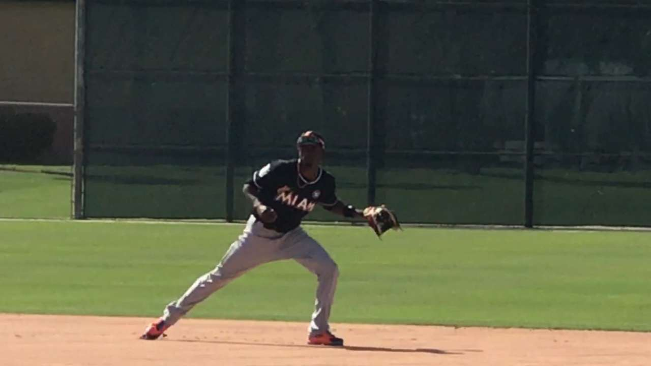 Marlins roster reflects healthy, steady spring