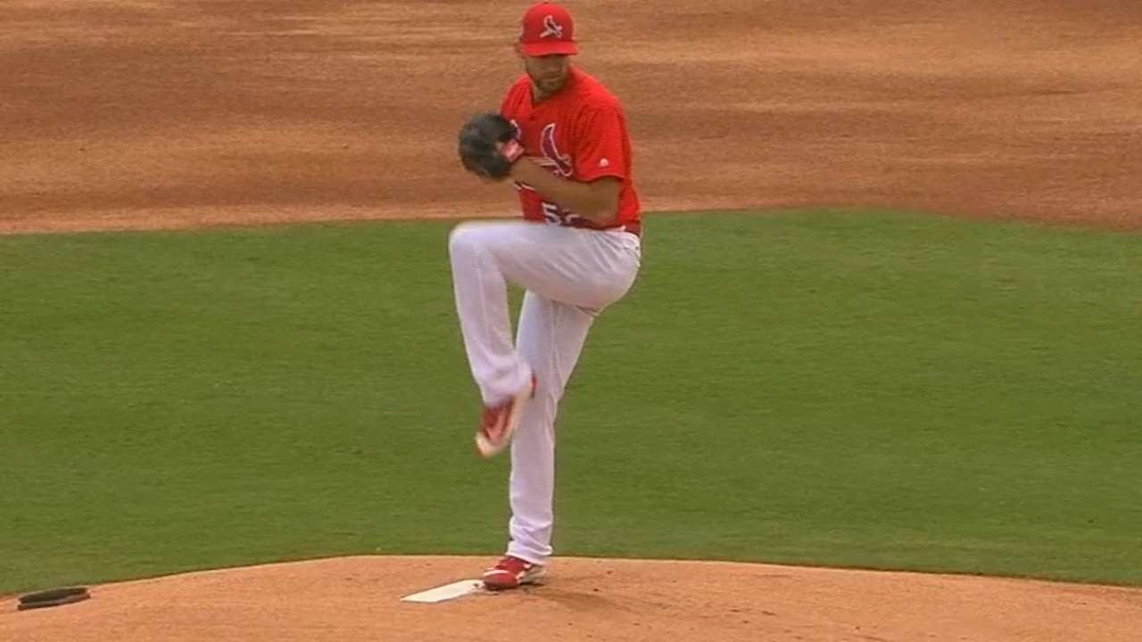 Rotation to feature Wacha to open season