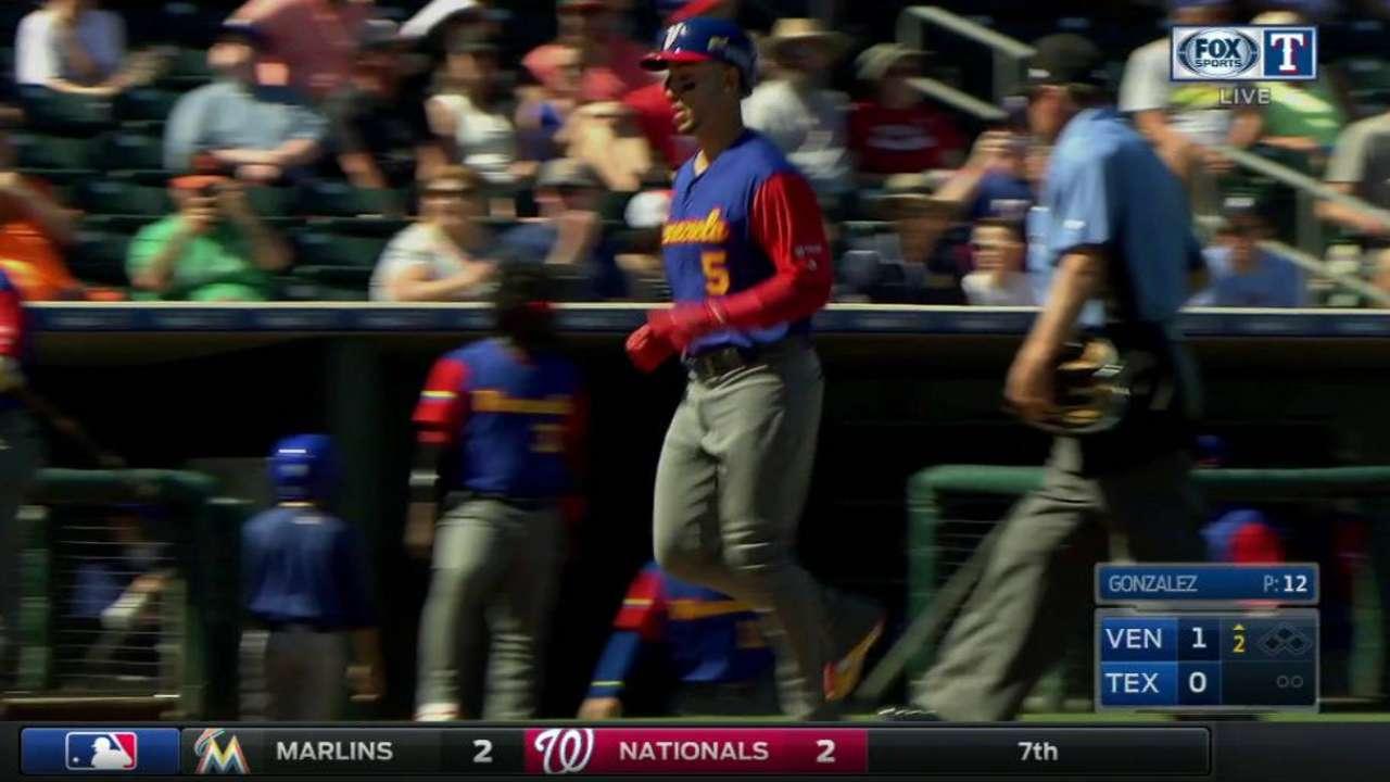 CarGo's solo home run