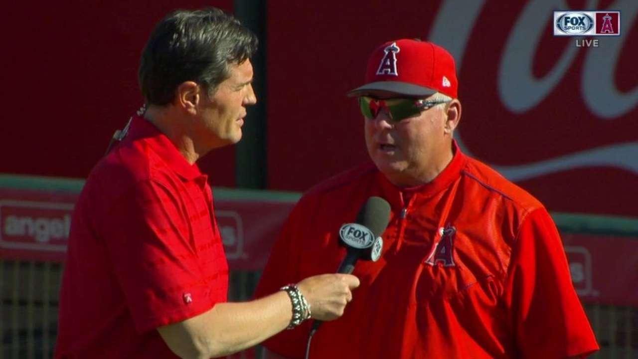 Scioscia on Pujols' spring debut