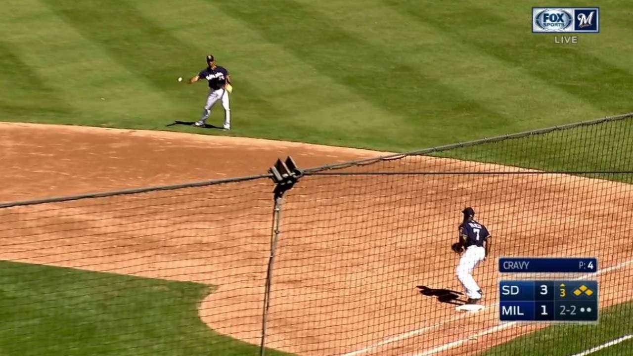 Cravy walks back talk of quitting baseball