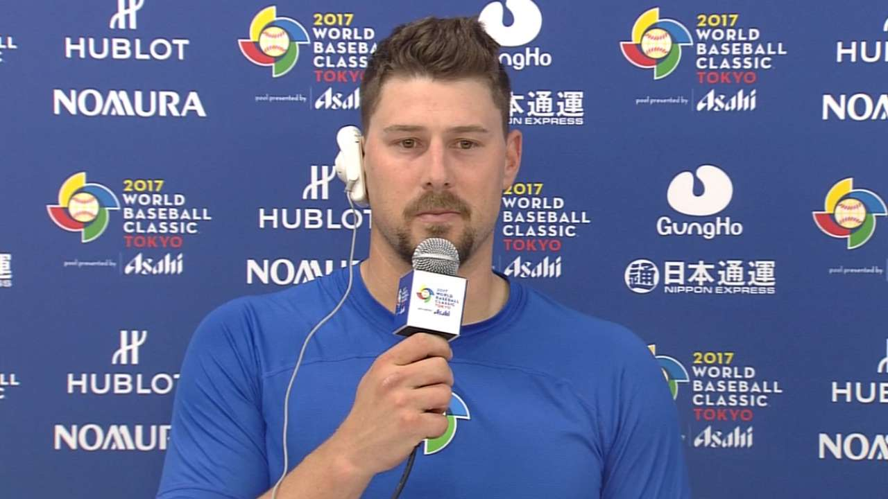 Lavarnway on Israel's 4-1 win