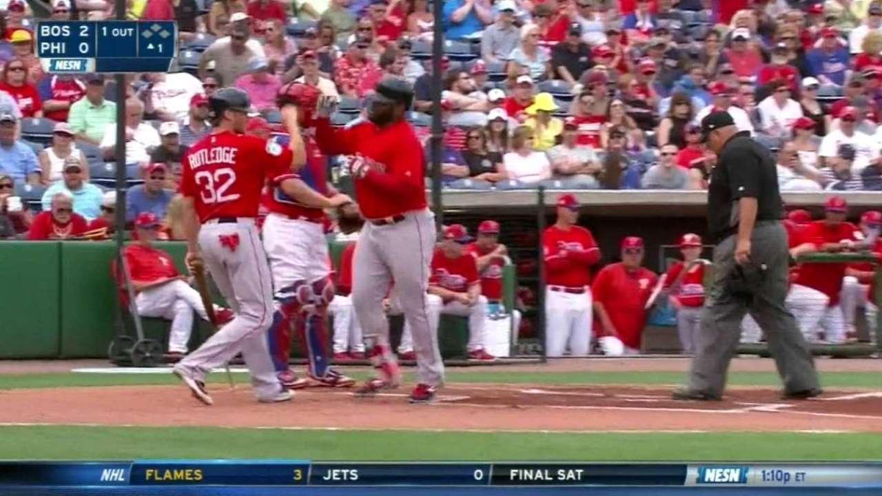 Sandoval's two-run smash