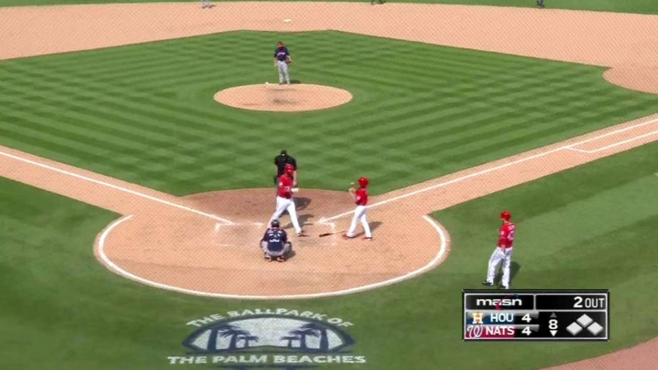 Ward's game-tying solo homer