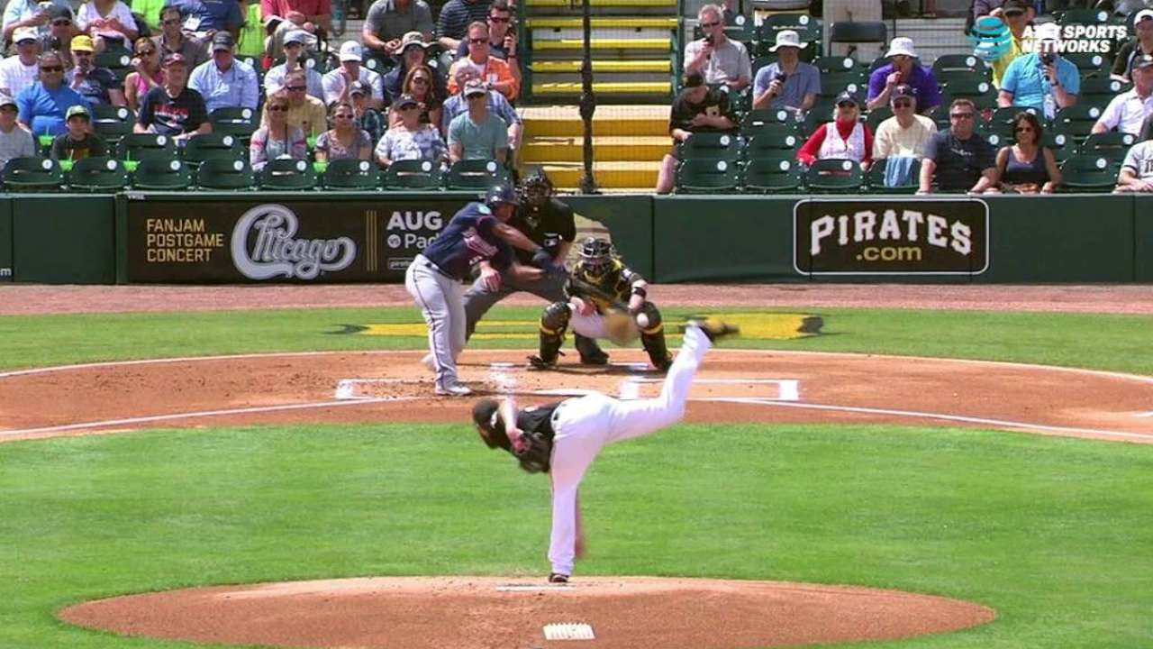 Williams pleased with developing changeup