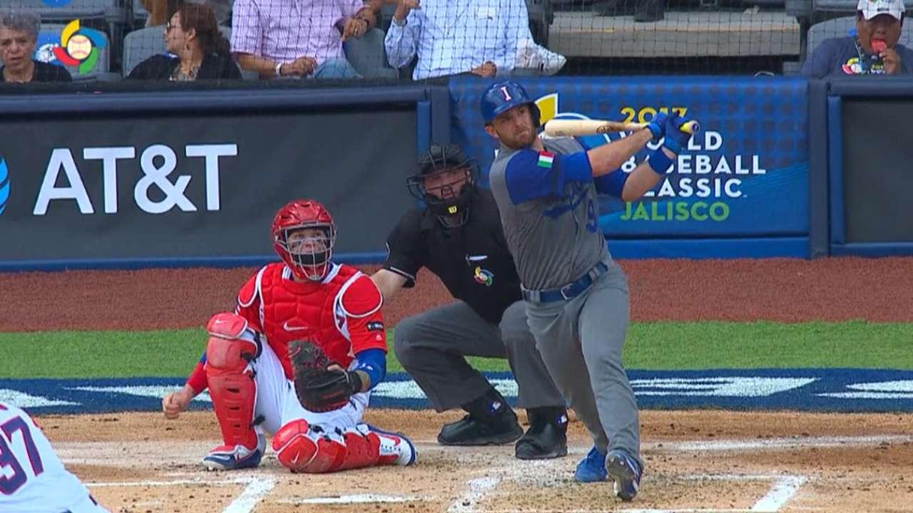 Butera's solo home run