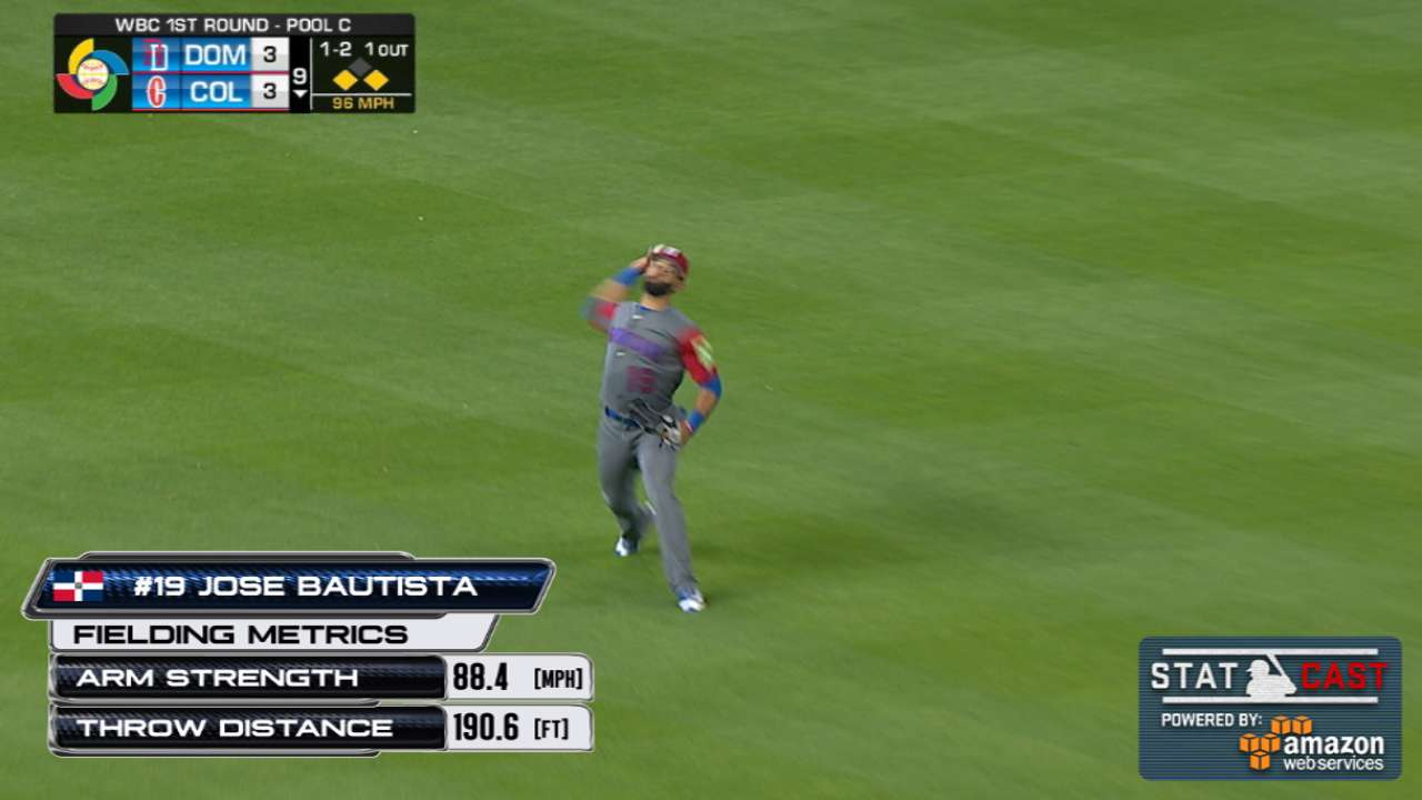 Statcast: Bautista saves game