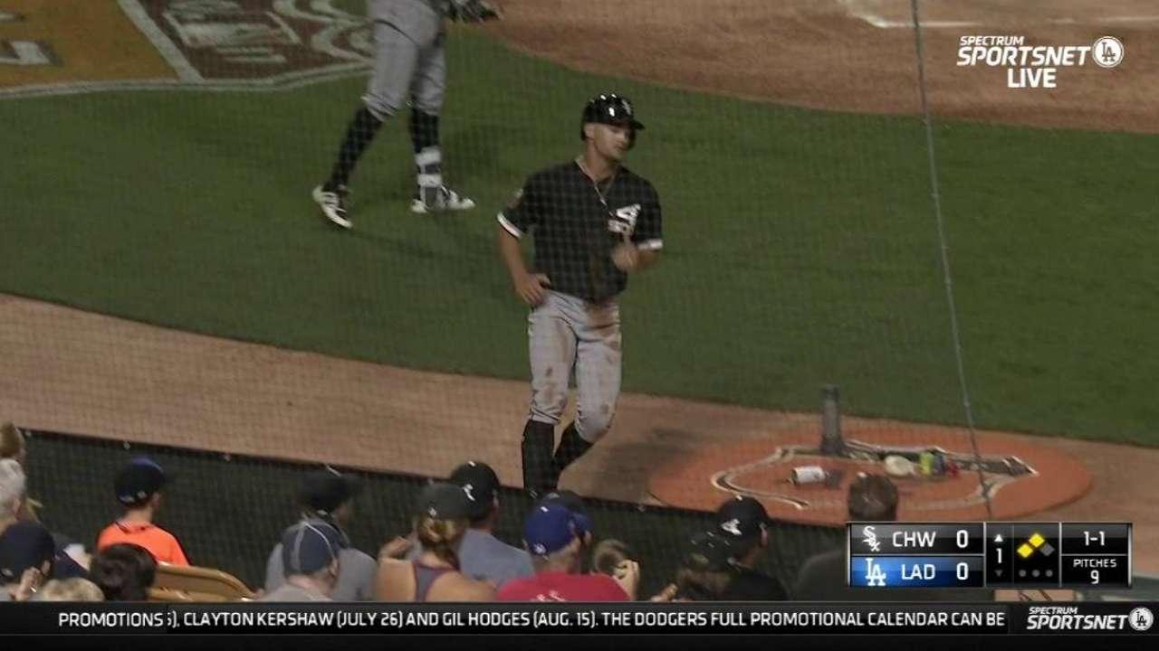 Cabrera's RBI infield single