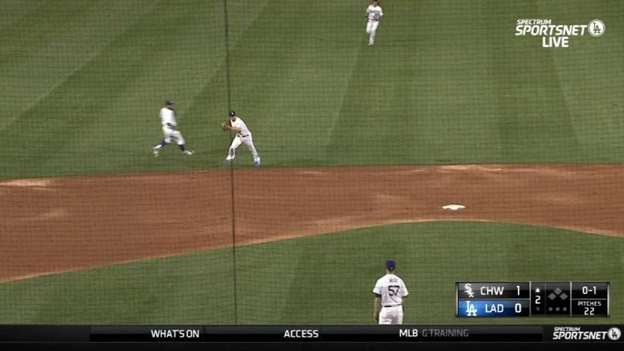 Forsythe's nice range and throw
