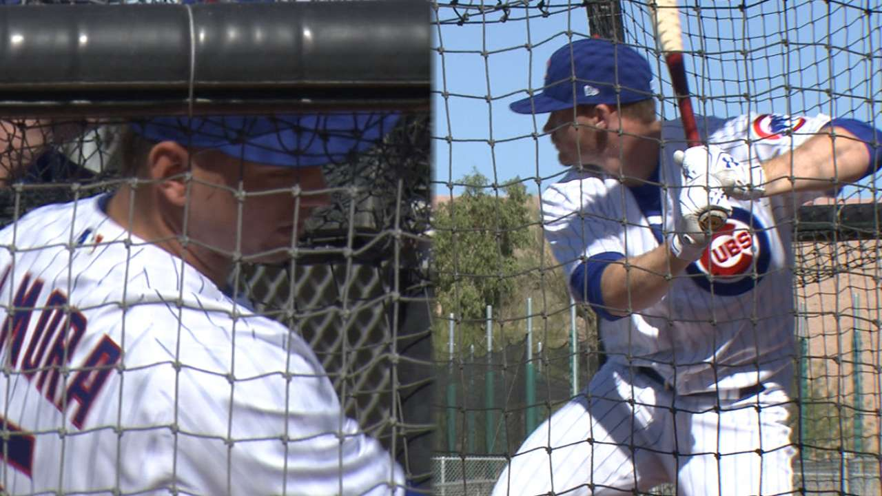 Happ, Almora on Spring Training
