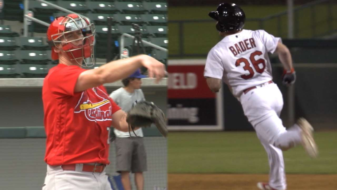 Kelly, Bader on spring